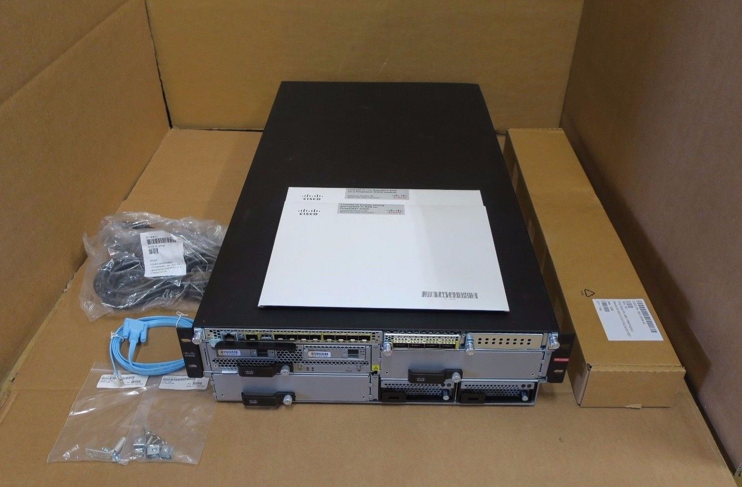 Cisco FPR-C9300-AC 9300 Firepower Security Appliance - Complete System